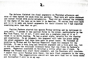 Portion of a letter, 7/28/1946