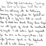 Portion of a letter, 8/6/1946