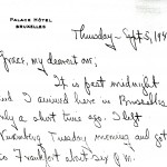 Portion of a letter, 9/5/1946