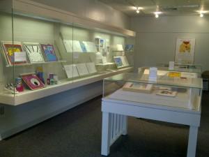 Katie Davis exhibit, Dodd Center Gallery
