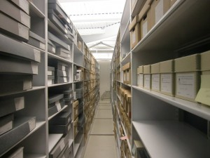 Archives & Special Collections stacks