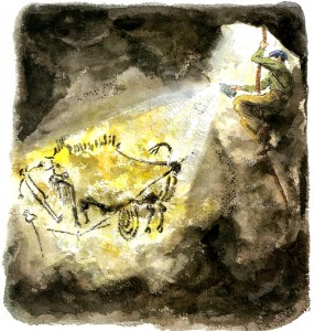 Secret Cave: Discovering Lascaux (New York : Farrar Straus Giroux, 2010)