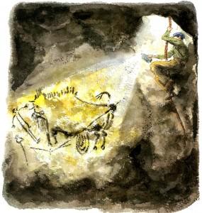 Secret Cave: Discovering Lascaux (New York : Farrar Straus Giroux, 2010)
