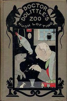 "Book Cover of ""Doctor Dolittle's Zoo"" by Hugh Lofting"