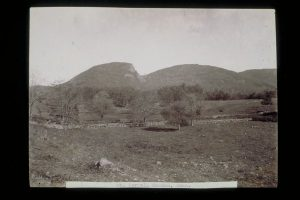 View of Mount Carmel across fields, Hamden. The Connecticut Historical Society. (1890) Retrieved from the Digital Public Library of America.