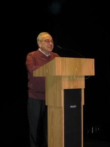 NormanDFinkelstein_podium
