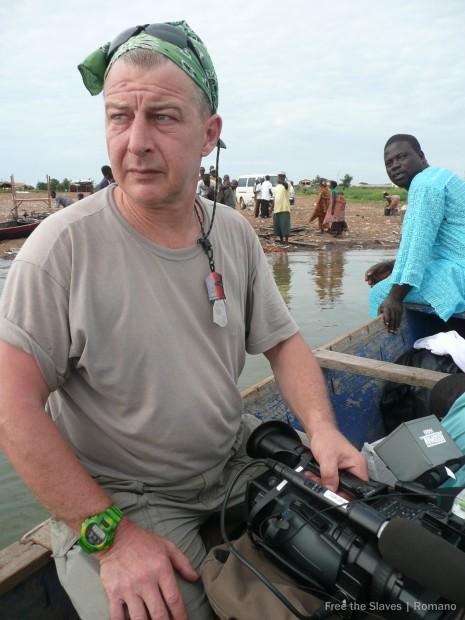 Robin Romano in Ghana.