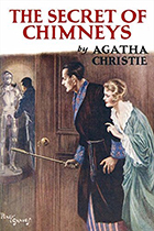 "Book cover for ""The Secret of Chimney's"" by Agatha Christie"
