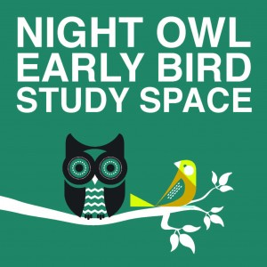 night owl early bird logo