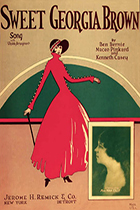 "Image of ""Sweet Georgia Brown"" songbook cover"